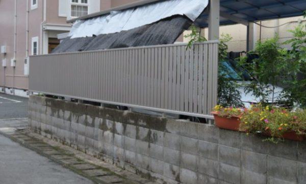 フェンス シンプリオ 施工事例